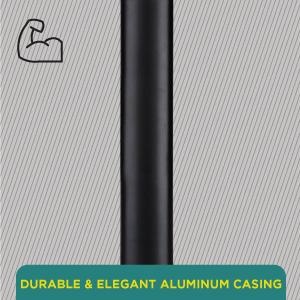 Durable & Elegant Aluminum Casing