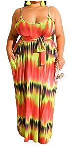 plus size long maxi dress