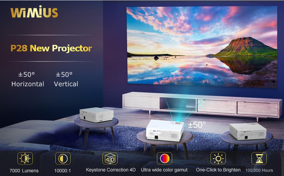WiMiUS P28 projector