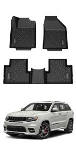 Custom Floor Mats Fit for Jeep Grand Cherokee/Dodge Durango