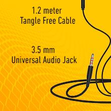 UBON GPR-411 Champ 3.5mm in-Ear Wired Earphone SPN- FOR 1