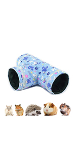 Hamster, hedgehog, guinea pig tunnel toy