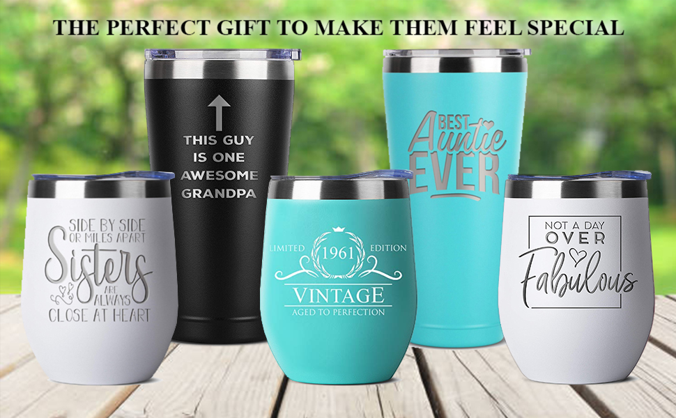mom dad birthday gifts gift for women and men him her tumbler tumblers stainless steel insulated