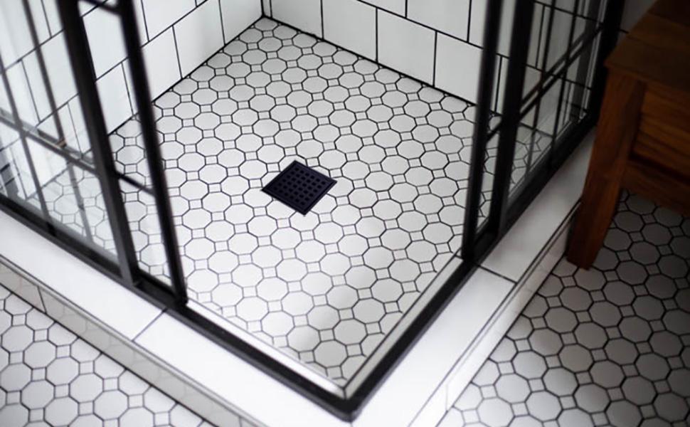 shower drain 4 inch