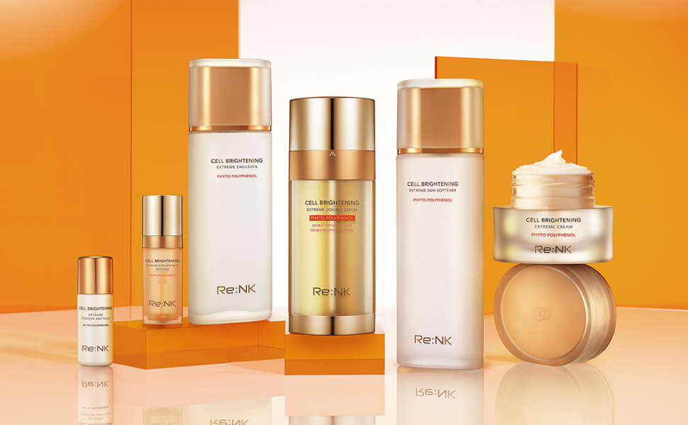 skincare, cell, brightening, line, facial