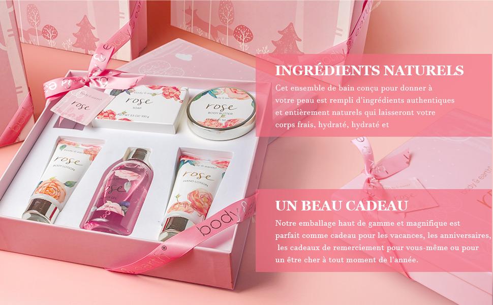 Coffret cadeau a la parfum de fleurs de cerisier
