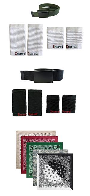 cuffs, gaiters, belts, bandannas, bandana, paisley