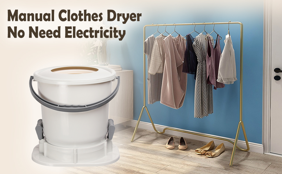 spin dryer portable manual clothes dryer