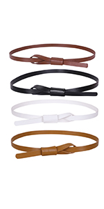 adjustable leather belt