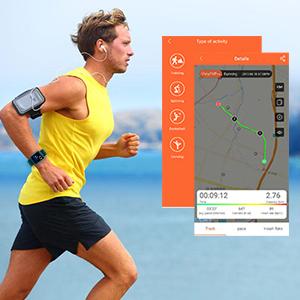 activity tracker for gps