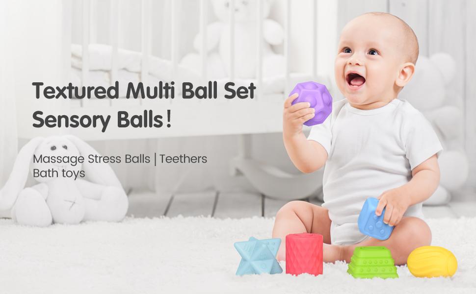 Sinnesbälle für Baby