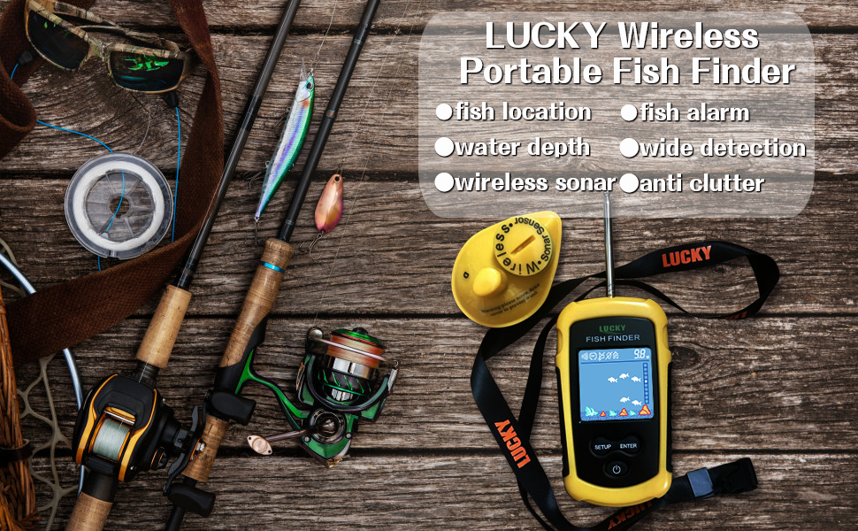 portable fish finder lucky