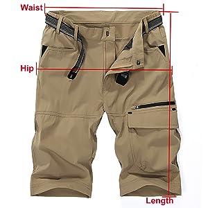 Quick Dry Hiking shorts boy scout pants safari pants hiking pants adventure quick dry