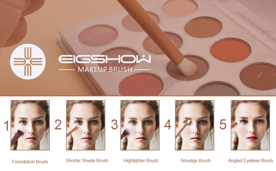 Makeup Brushes Set Professional Cosmetic Brush Foundation Powder Concealers Eyeshadows Liquid Cream