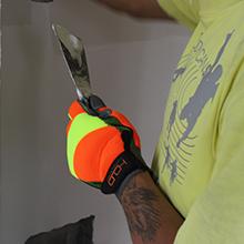 high visibility gloves for men