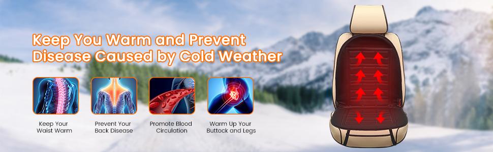 Trzymaj się ciepło i zapobiegaj chorobom spowodowanym przez zimną pogodę