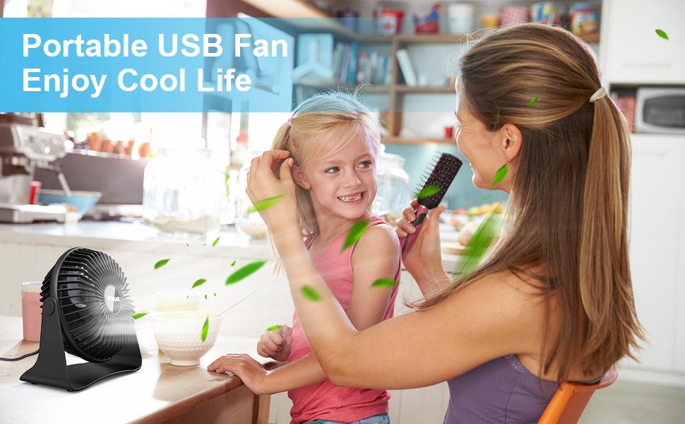 small fan desk fan table fan usb fans personal fans quiet fan  small fan for bedroom small desk fan