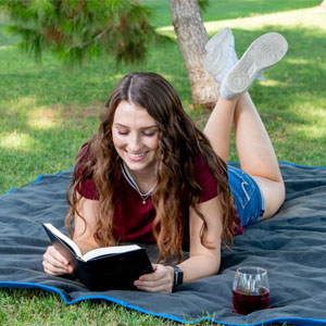 Brawntide Waterproof Blanket Park Picnic Festivals Camping