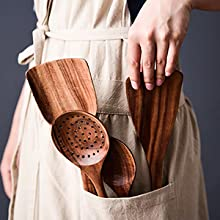 wood spoons for cooking
