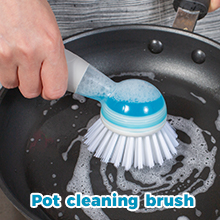 pot cleaning brush