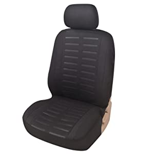 Autositzbezug-Vordersitz-Seitenairbag-Auto-Sitzschoner-Universal-Fahrersitz-Autositz-Schonbezug