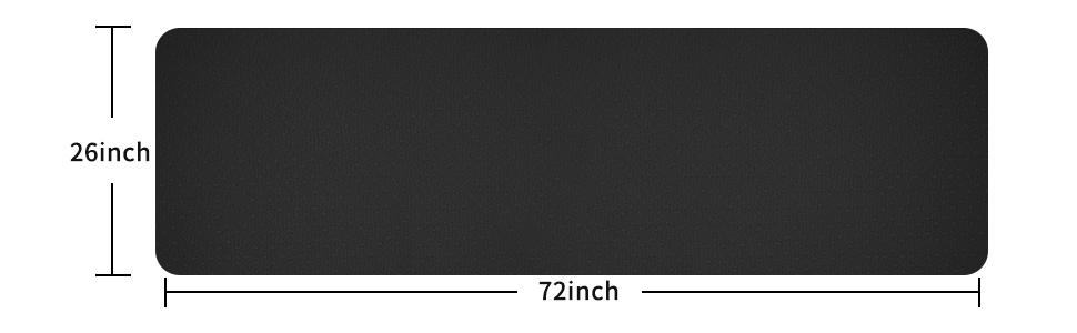 72 inch*26 inch*0.24 inch