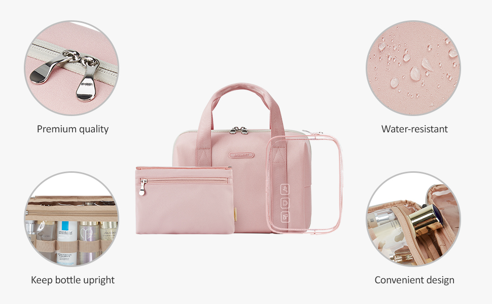 wash bag make up bag toiletry bag cosmetic bag toilet bags with hook hanging toiletry case
