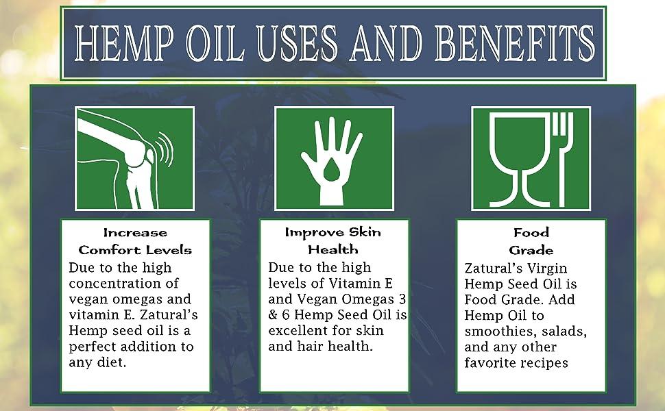 uses for hemp oil