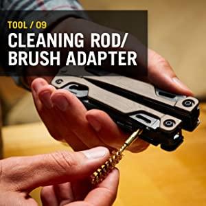 Leatherman OHT, Leatherman Multitool, Multipurpose Tool, Cleaning Rod Brush Adapter, OHT Multitool