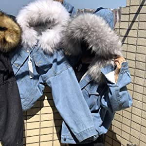 BIG fur collars