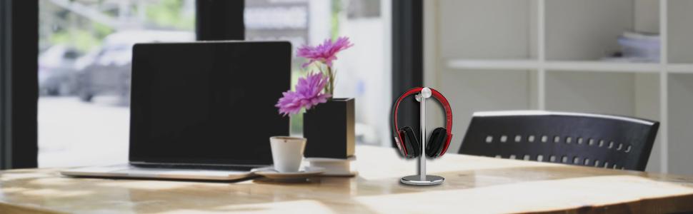 headphones stand headset desk ps4 pc controller corsair rgb hyperx xbox turtle organizer