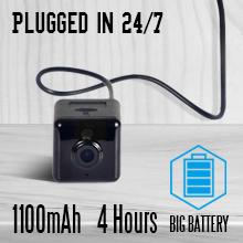 Spy Camera Wireless Hidden Mini WiFi Nanny Cam Indoor Outdoor Security Video Recorder Big Battery