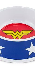Wonder Woman Pet Food Bowl
