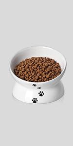 raised cat food bowl