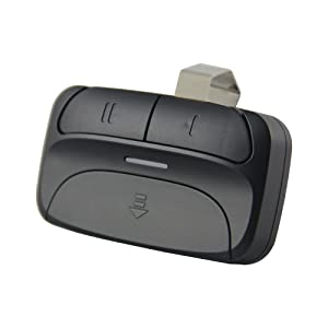 universal garage  remote, able to control two garage doors with one remote.