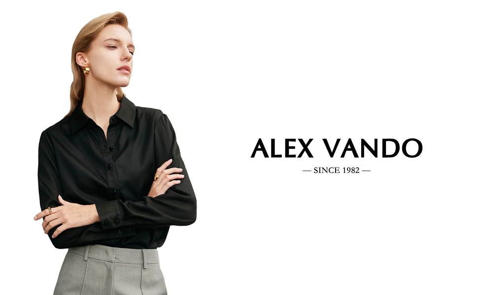Long sleeve womens dress shirts stretch work shirts