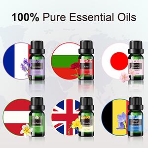 essential oil diffuser set