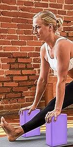 Yoga Block-2 Packs(Purple)