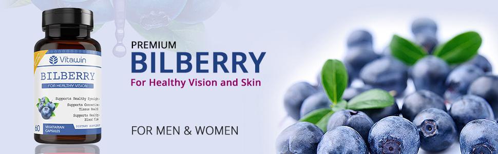 bilberry vision skin blood circulation