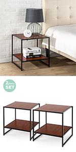 ZInus Bedside table COMBO-B