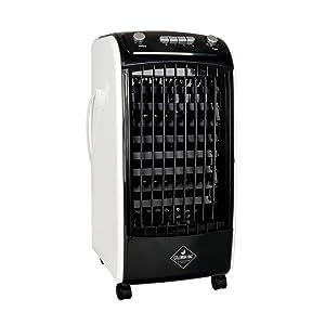 eldom Enfriador Portátil de Aire, Climatizador Evaporativo Columbiavac KC100, 3 Velocidades de Ventilador, Oscilación y Tanque de Agua de 2 litros para el Hogar o la Oficina,: Amazon.es: Hogar