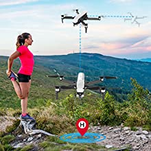 Flashandfocus.com f8f1f509-9d98-455d-9568-6bad2e3a716f.__CR0,0,300,300_PT0_SX220_V1___ SIMREX X20 GPS Drone with 4K HD Camera 2-Axis Self stabilizing Gimbal 5G WiFi FPV Video RC Quadcopter Auto Return Home…