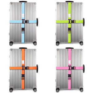Multipack. Personalised Luggage Straps for Suitcases. Bag Suitcase Straps with Luggage Tag Labels