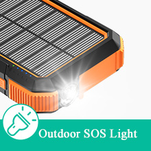 sun powered phone charger military battery bank