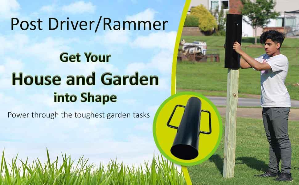 AshmanOnline Post Driver/Rammer Heavy Duty 30 lbs