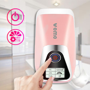 Permanent IPL Hair Removal Device for Women and Men VEME