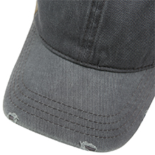 Distressed Washed Cotton Dad Hat