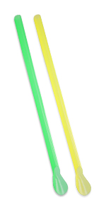 Color Changing Spoon Straws