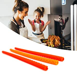 Easy to install oven rack guards
