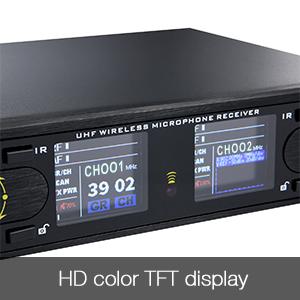 Mic with HD TFT Display Screen